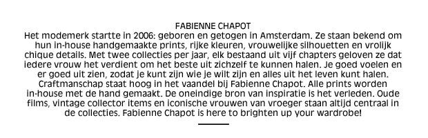 Fabienne Chapot In The Spotlight